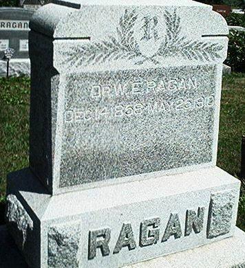 RAGAN, W.E. - Keokuk County, Iowa | W.E. RAGAN