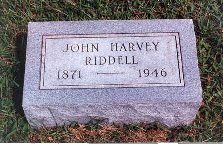 RIDDELL, JOHN HARVEY - Keokuk County, Iowa | JOHN HARVEY RIDDELL