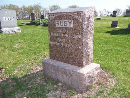 RUBY, PHOEBA A. - Keokuk County, Iowa | PHOEBA A. RUBY