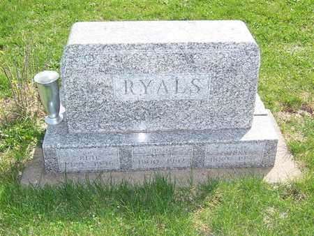 INGLE RYALS, IVY PEARL - Keokuk County, Iowa | IVY PEARL INGLE RYALS