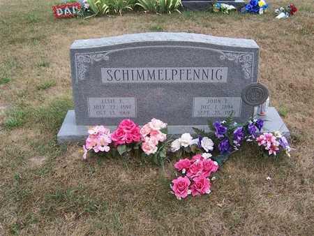 SCHIMMELPFENNIG, JOHN F. - Keokuk County, Iowa | JOHN F. SCHIMMELPFENNIG