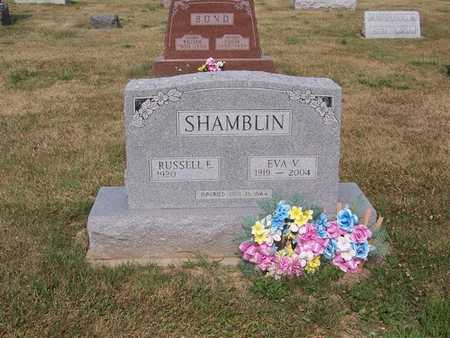 SHAMBLIN, RUSSELL E. - Keokuk County, Iowa | RUSSELL E. SHAMBLIN