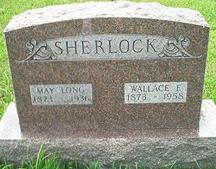 LONG SHERLOCK, MAY - Keokuk County, Iowa | MAY LONG SHERLOCK