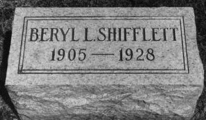 SHIFFLETT, BERYL - Keokuk County, Iowa | BERYL SHIFFLETT