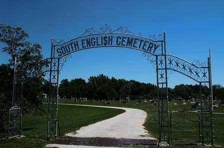 SOUTH ENGLISH, CEMETERY - Keokuk County, Iowa | CEMETERY SOUTH ENGLISH