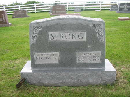 STRONG, AUGUST JAY - Keokuk County, Iowa | AUGUST JAY STRONG