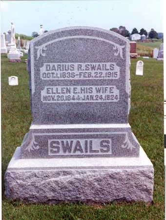 JOHNSON SWAILS, ELIZA ELLEN - Keokuk County, Iowa | ELIZA ELLEN JOHNSON SWAILS