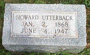 UTTERBACK, HOWARD - Keokuk County, Iowa | HOWARD UTTERBACK