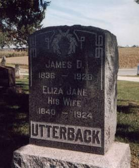 UTTERBACK, JAMES DAVID - Keokuk County, Iowa | JAMES DAVID UTTERBACK