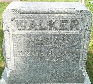 WALKER, ELIZABETH - Keokuk County, Iowa | ELIZABETH WALKER