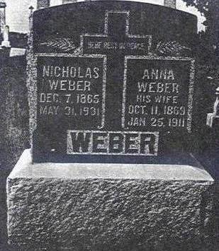 REINIG WEBER, ANNA - Keokuk County, Iowa | ANNA REINIG WEBER