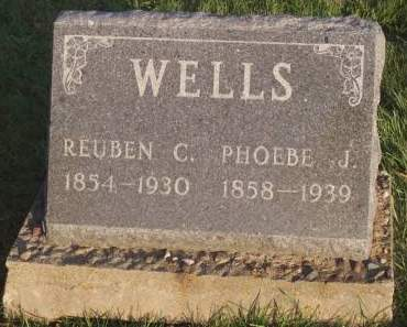 WELLS, REUBEN C. - Keokuk County, Iowa | REUBEN C. WELLS