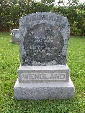 WENDLAND, MARY A - Keokuk County, Iowa | MARY A WENDLAND