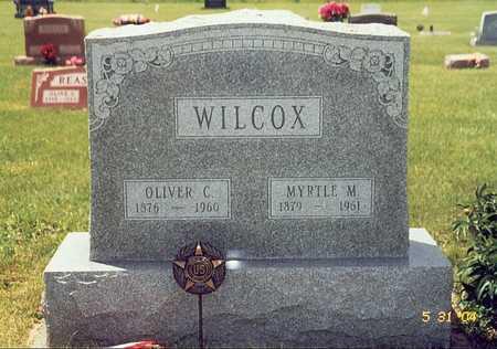WILCOX, MYRTLE M. - Keokuk County, Iowa | MYRTLE M. WILCOX