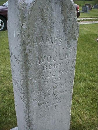 WOOLM, JAMES - Keokuk County, Iowa | JAMES WOOLM