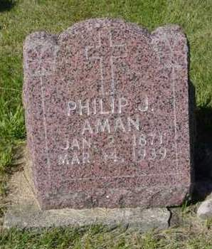 AMAN, PHILIP J. - Kossuth County, Iowa | PHILIP J. AMAN