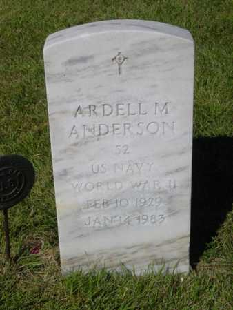 ANDERSON, ARDELL M. - Kossuth County, Iowa   ARDELL M. ANDERSON