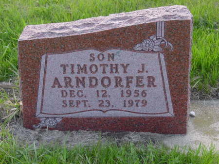 ARNDORFER, TIMOTHY J. - Kossuth County, Iowa | TIMOTHY J. ARNDORFER