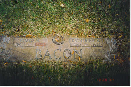 BACON, KATHERINE A. - Kossuth County, Iowa | KATHERINE A. BACON