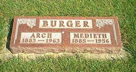 BURGER, ARCH - Kossuth County, Iowa | ARCH BURGER
