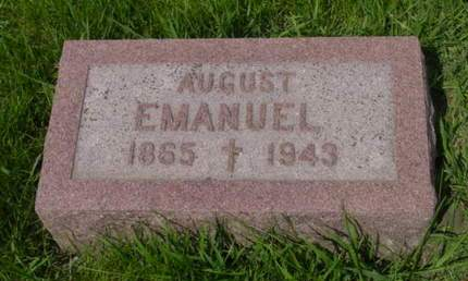 EMANUEL, AUGUST - Kossuth County, Iowa | AUGUST EMANUEL