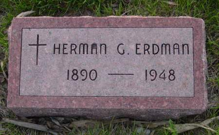 ERDMAN, HERMAN G. - Kossuth County, Iowa | HERMAN G. ERDMAN