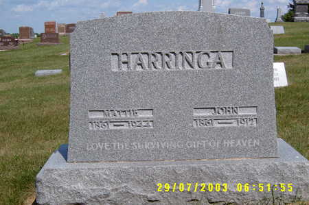 HARRENGA, JOHN SR. - Kossuth County, Iowa | JOHN SR. HARRENGA
