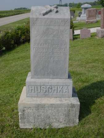 HUSCHKA, JOHANNA - Kossuth County, Iowa | JOHANNA HUSCHKA