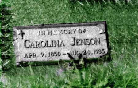 JENSEN, CAROLINE - Kossuth County, Iowa | CAROLINE JENSEN