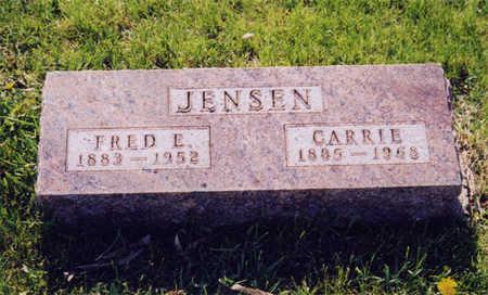 JENSEN, FRED (FRITZOFF EDVART) - Kossuth County, Iowa | FRED (FRITZOFF EDVART) JENSEN