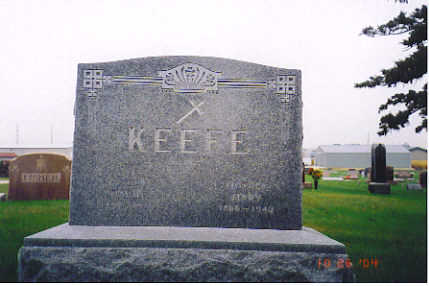 KEEFE, DAVID - Kossuth County, Iowa | DAVID KEEFE