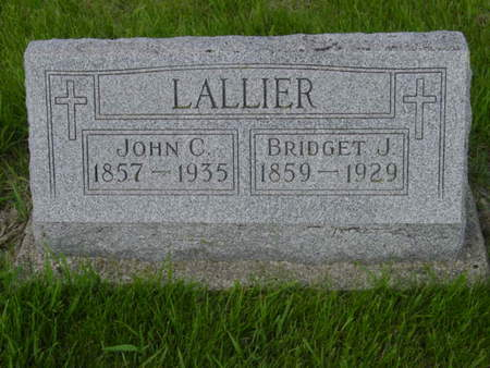 LALLIER, BRIDGET J. - Kossuth County, Iowa | BRIDGET J. LALLIER