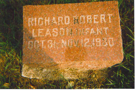 LEASON, RICHARD ROBERT - Kossuth County, Iowa | RICHARD ROBERT LEASON