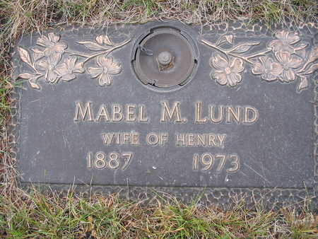 LUND, MABEL - Kossuth County, Iowa | MABEL LUND