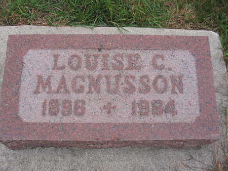 MAGNUSSON, LOUISE - Kossuth County, Iowa | LOUISE MAGNUSSON