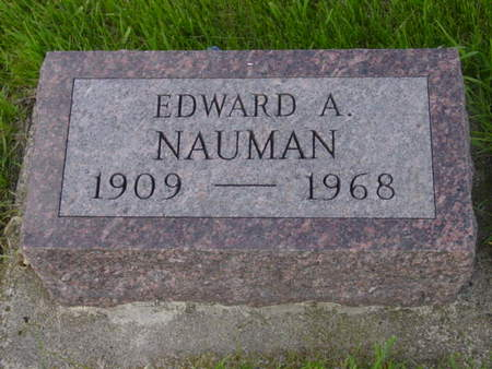 NAUMAN, EDWARD A. - Kossuth County, Iowa | EDWARD A. NAUMAN