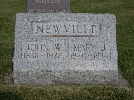 SHEPARD NEWVILLE, MARY - Kossuth County, Iowa | MARY SHEPARD NEWVILLE