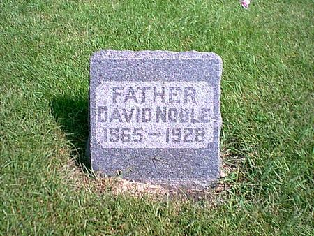 NOBLE, DAVID - Kossuth County, Iowa | DAVID NOBLE