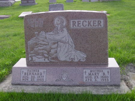 RECKER, BERNARD - Kossuth County, Iowa | BERNARD RECKER