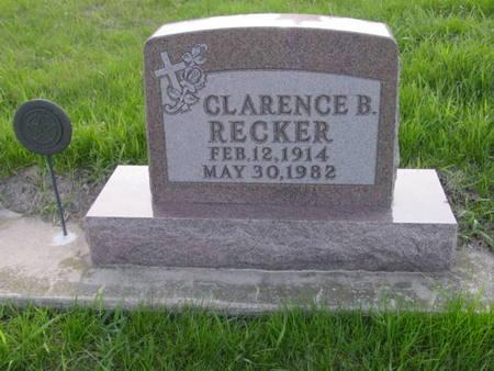 RECKER, CLARENCE B. - Kossuth County, Iowa | CLARENCE B. RECKER