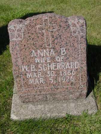 SCHERRARD, ANNA B. - Kossuth County, Iowa | ANNA B. SCHERRARD