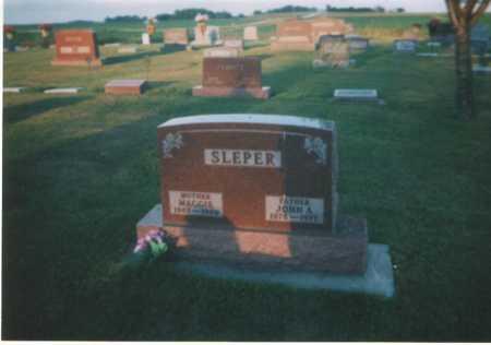 SLEPER, JOHN A - Kossuth County, Iowa | JOHN A SLEPER