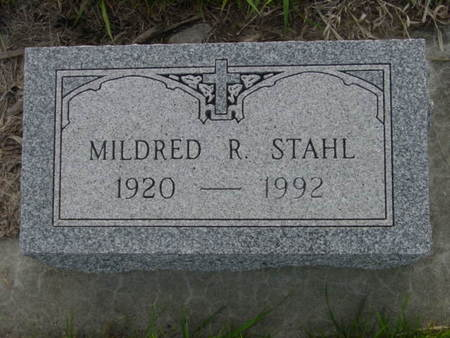 STAHL, MILDRED R. - Kossuth County, Iowa | MILDRED R. STAHL