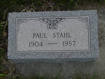 STAHL, PAUL - Kossuth County, Iowa | PAUL STAHL
