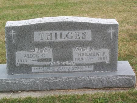 THILGES, HERMAN - Kossuth County, Iowa | HERMAN THILGES