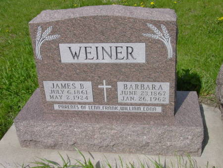 WEINER, JAMES B. - Kossuth County, Iowa | JAMES B. WEINER