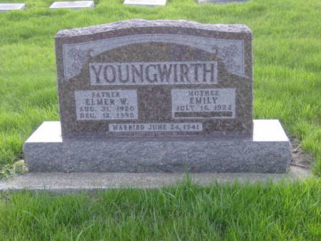 YOUNGWIRTH, ELMER W. - Kossuth County, Iowa | ELMER W. YOUNGWIRTH