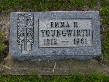 YOUNGWIRTH, EMMA H. - Kossuth County, Iowa | EMMA H. YOUNGWIRTH