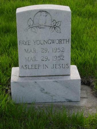 YOUNGWORTH, FAYE - Kossuth County, Iowa | FAYE YOUNGWORTH