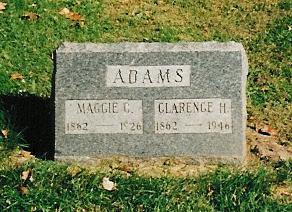 ADAMS, CLARENCE H. - Lee County, Iowa | CLARENCE H. ADAMS